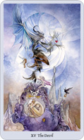shadowscapes tarot devil card