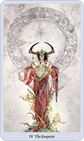 shadowscapes tarot emperor card