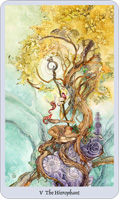 shadowscapes tarot hierophant card
