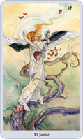 shadowscapes tarot justice card
