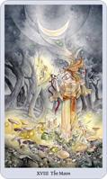 shadowscapes tarot moon card