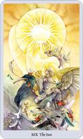 shadowscapes tarot the sun card