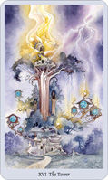 shadowscapes tarot the tower card