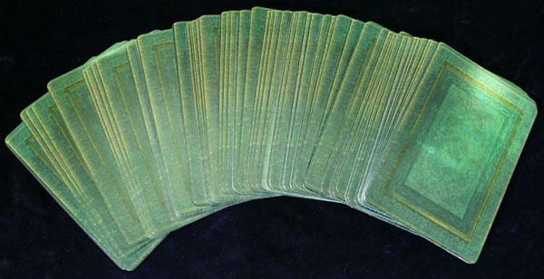 tarot card shuffle fan