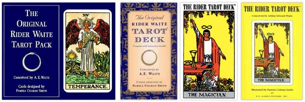 us games original rider waite smith tarot variations