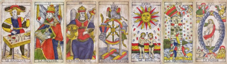 tarot planet trumps