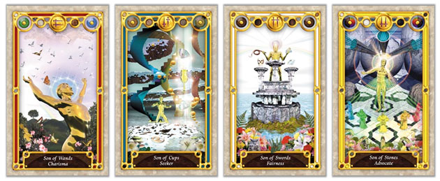 Tarot Court Cards – Knights, Princes & Sons | Tarot Elements