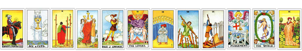 Tarot Card Counting Layout