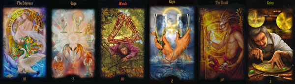 Daily Tarot Spread Reading