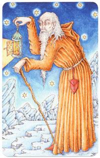 the-hermit-nigel-jackson-tarot