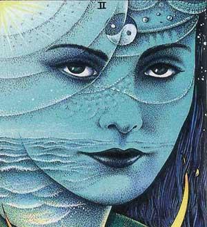 cosmic tarot high priestess tarot servies