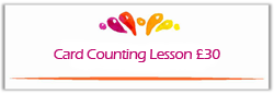 tarot card counting lesson button