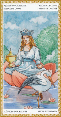 Queen of Cups | Tarot Card Meanings | Tarot Elements