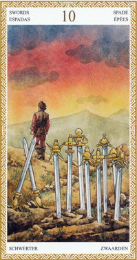 10 of Swords | Tarot Card Meanings | Tarot Elements