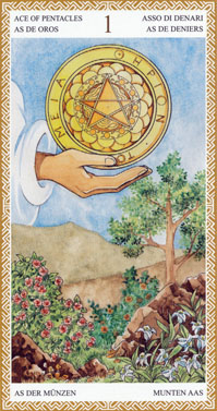 Ace of Pentacles | Tarot Card Meanings | Tarot Elements