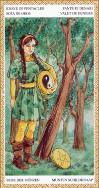 Page of Pentacles | Tarot Card Meanings | Tarot Elements
