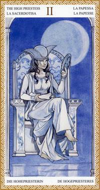 Resultado de imagem para high priest tarot