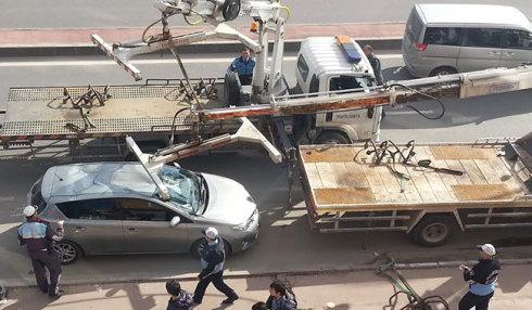 haksız araç çekme işlemlerinde araçlara hasar veriliyor.