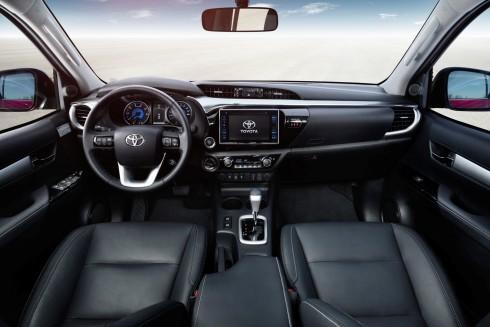 Toyota Hilux iç tasarım