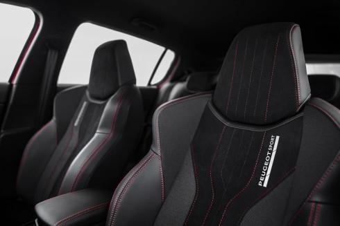Peugeot 308 GTi İç Tasarım