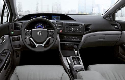 Honda Civic iç kabin 2015