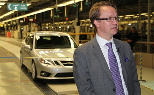 Saab CEO'su Mattias Bergman