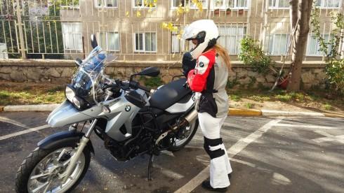 motosiklet kıyafeti
