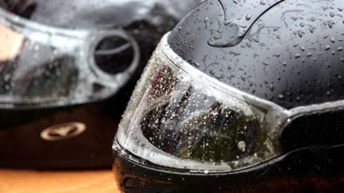 Yağmurda Motosiklet Kullanımı