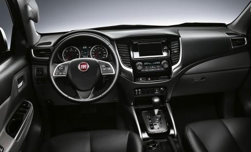 Fiat Fullback iç tasarımı