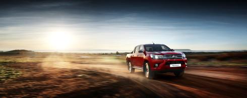 Toyota Hilux Test Sürüşü