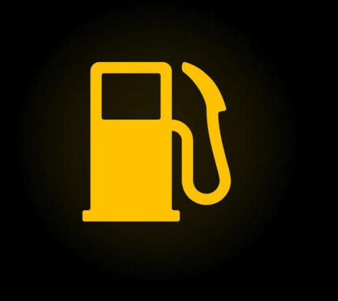 Yakıt miktarı uyarısı