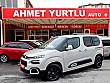 AHMET YURTLU AUTO 2020 ÇIKIŞLI 1.5 HDI FEEL STİL  0  BOYASIZ Citroën Berlingo 1.5 BlueHDI Feel Stil - 2090063