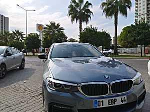 İLK SAHIBINDEN 2018 BMW 520I M SPORT 8500 KM HATASIZ KUSURSUZ METALIK GRI