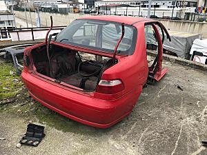 Fiat Albea Tavan arka ve tüm parçaları hatasız orjinal çıkma