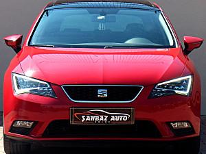 ŞAHBAZ AUTO 2015 SEAT LEON 1.6 TDI CR STYLE DSG CAM.TVN FULL FULL 67.000 KM