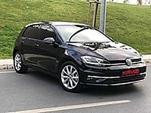 AUTO KIRMIZI DAN HATASIZ 2019 GOLF HIGHLİNE SİYAH İÇİ BEJ Volkswagen Golf 1.6 TDi BlueMotion Highline