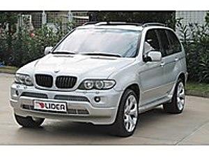 2004 BMW X5 4.4 İA 6 İLERİ MAKYAJLI KASA  AUTO LİDER   FATSA   BMW X5 44