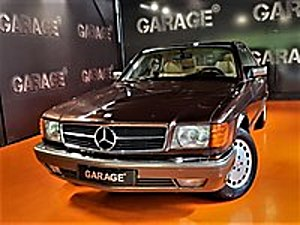 GARAGE 1983 MERCEDES BENZ 500 SEC SUNROOF  Mercedes - Benz 500 500 SEC