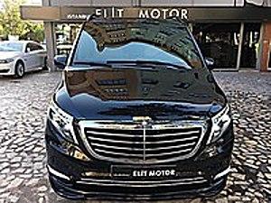 ist.ELİT MOTOR dan 2018 MODEL MERCEDES V İ P CAM TAVAN-APPLE TV Mercedes - Benz Vito Tourer Select 119 CDI Select Plus
