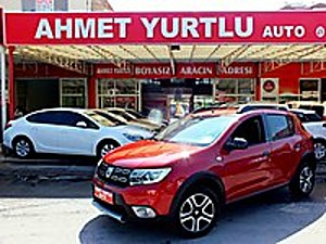 AHMET YURTLU AUTO EN DOLU STEPWAY STYLE 32.000KM BOYASIZ Dacia Sandero 1.5 dCi Stepway Style