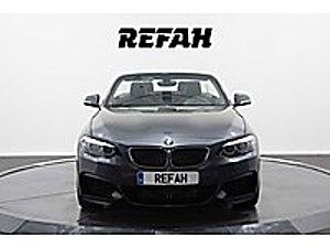2018 2.18 M SPORT OTOMATİK CABRİO FÜME HATASIZ BOYASIZ BMW 2 Serisi 218i M Sport