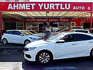 AHMET YURTLU AUTO 2017 1.6 i-VTEC 51.000km LPG EXECUTİVE BOYASIZ Honda Civic 1.6i VTEC Executive
