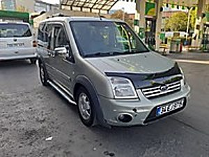 EXPER RAPORLU 2010 FORD CONNECT 90 HP DELUXE BAKIMLI Ford Tourneo Connect 1.8 TDCi Silver