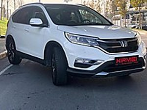 AUTO KIRMIZI DAN AĞIR HASAR KAYITLI 2016 HONDA C RV EXECUTİVE   Honda CR-V 1.6 i-DTEC Executive