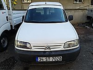 UZTAŞ OTOMOTİV DEN 2001 CİTROEN BERGİNHO 1.9 DİZEL PANELVAN Citroën Berlingo 1.9 D