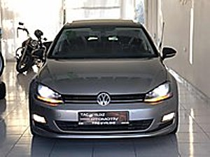 2013 GOLF7 1.6 TDI HIGHLİNE 103 BİN KM DE DEĞİŞENSİZ Volkswagen Golf 1.6 TDi BlueMotion Highline