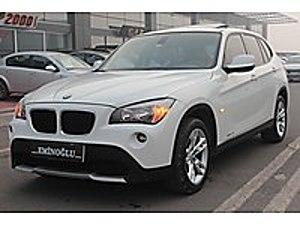2011 BMW X1 2.0D X-DRİVE CAM TAVAN-HATASIZ- BOYASIZ-HASARSIZ BMW X1 20d xDrive 2.0d xDrive