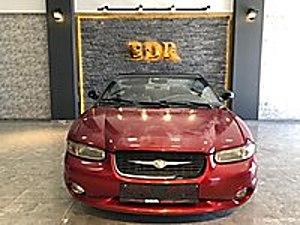 2000 CHRYSLER STRARUS CABRİO FUL-ORJİNAL-HATASIZ-TÜRKİYE DE TEK  Chrysler Stratus 2.5 LX