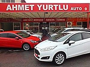 AHMET YURTLU AUTO 2016 FİESTA TİTANİUM PLUS 57000KM OTOM BOYASIZ Ford Fiesta 1.6 Titanium