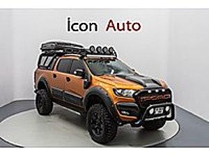 İCON AUTO - ÖZEL PROJE ARACI - OFF ROAD - ÇADIRLI -FULL AKSESUAR Ford Ranger 3.2 TDCi Wild Trak